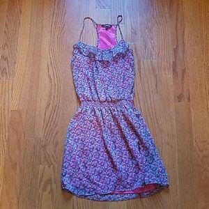 Express pink floral sundress szsmall